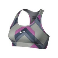 Nike Store. Nike Pro Hypercool Compression Printed Women's Sports Bra