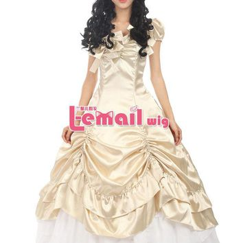 LMFUS4 Sweet Princess Victorian Prom Dress Pink Red Blue Lolita Gothic Dress Halloween Costumes For Women Adult Customized