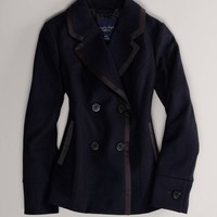 AE Double-Breasted Peacoat | American Eagle Outfitters