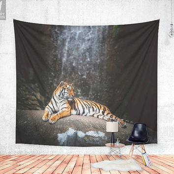 Big cat Wall tapestry