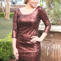 New Year's Sequin Dress
