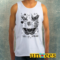 Harry Styles Tattoo Clothing Tank Top For Mens