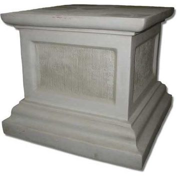 Square Riser Pedestal Base for Large Statue 25H
