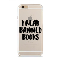 I read banned book - Reading book - Book nerd - Super Slim - Printed Case for iPhone - SC-112