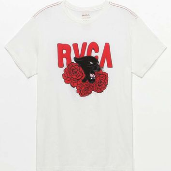 RVCA Panther 'N Roses T-Shirt at PacSun.com