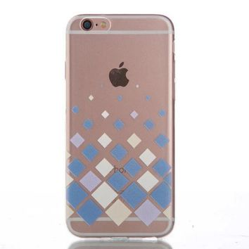 Geometry Ultrathin Transparent iPhone 5se 5s 6 6s Case Originality Cover Gift-170928
