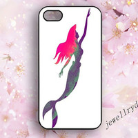 The little mermaid iPhone 4/4s Case,Mermaid Background iPhone 5/5s Case,charm iPhone 5c Case,happy Mermaid samsung galaxy s3 s4 s5 cover
