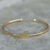 Altar'd State Dainty Cuff Bracelet - Virginia - Game Day / State Pride