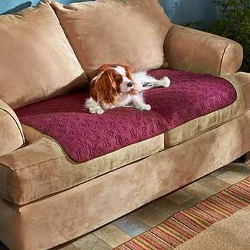 Sofa, Loveseat, or Chair Furniture Protector Waterproof Pet Pad Cover