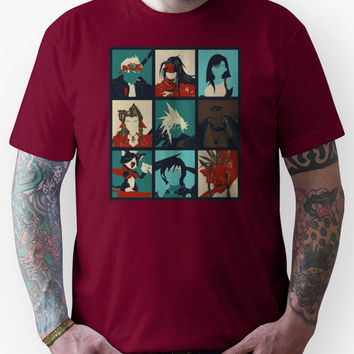 Final Fantasy VII - Characters Unisex T-Shirt