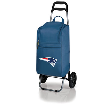 New England Patriots - Cart Cooler with Trolley (Navy)