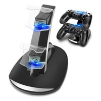 Charging Stand PS4 / PS4 Slim / PS4 Pro Controller Charger, PS4 Charging Station Stand for PlayStation 4 Controller