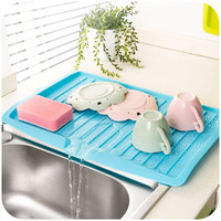 vanzlife companion dishes sink drain pallets plastic filter plate storage rack kitchen shelving rack drain board