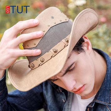 Summer Outdoor Hats Spring Western Cowboy Hat Breathable Men and Women Jazz Hats Riding Cap Fishing Visor Daxie Beach Hat