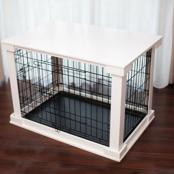 Grommit Pet Crate End Table