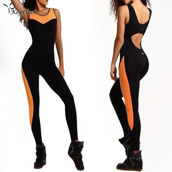 Aaliah Backless Active Jumpsuit