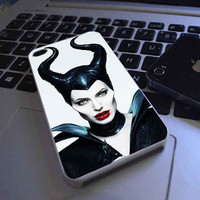 Jolie Maleficent customized for iphone 4/4s/5/5s/5c samsung galaxy s3/s4/s5 and ipod 4/5 case