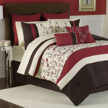 Charice 12-Piece Comforter Super Set
