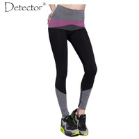 Detector Women Yoga Pants High Elastic Quick Dry Fitness Yoga Pants  Fitness Women Running Pants Sports leggings