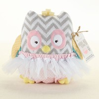 Haddie-Hoo and Bloomer Too! - Plush Owl & Bloomer for Baby