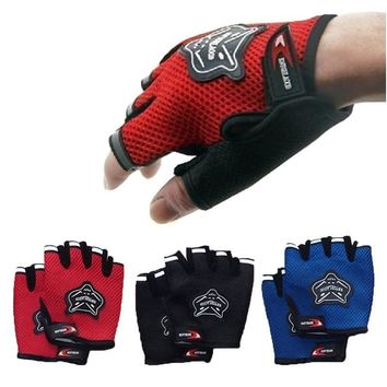 Sport Gloves Weight Lifting Fitness Half Finger