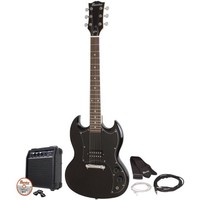 Maestro by Gibson MESGBKCH Double Cutaway Electric Guitar Kit - Walmart.com