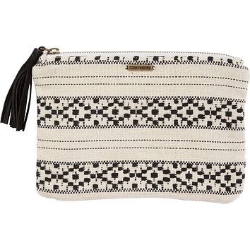 Billabong - Salty Water Clutch | Black & White