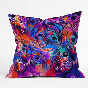 Holly Sharpe Rapture II Outdoor Throw Pillow