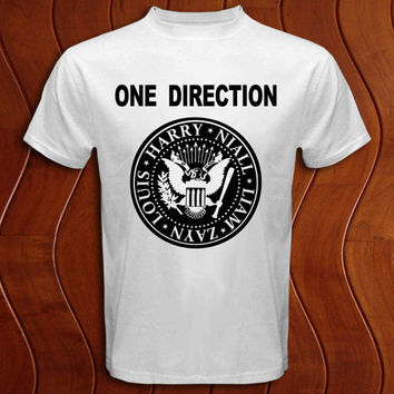 One Direction ramones Shirt Men and Women T Shirt More Size Available