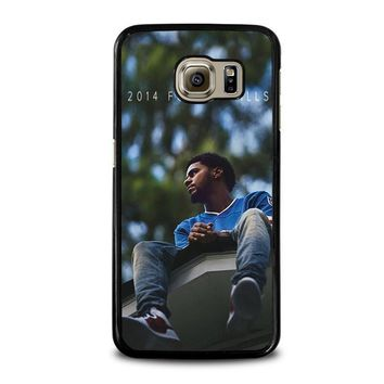 j cole forest hills samsung galaxy s6 case cover  number 1