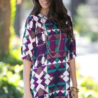 Working The Angles Shift Dress