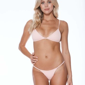 MGS Low Tide Bikini Set - Bubblegum Rib