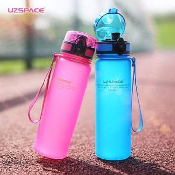 Plastic Drinkware Protein Shaker Hiking Drink Bottle