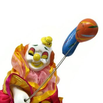 Porcelain Clown Creepy Balloon Bearer