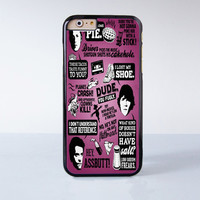 Supernatural Quote Collage Plastic Case Cover for Apple iPhone 6 6 Plus 4 4s 5 5s 5c