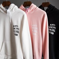 """ANTI SOCIAL SOCIAL CLUB"" HOODIES"