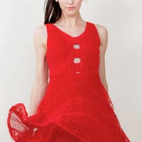 Crochet All Day Women's Dress