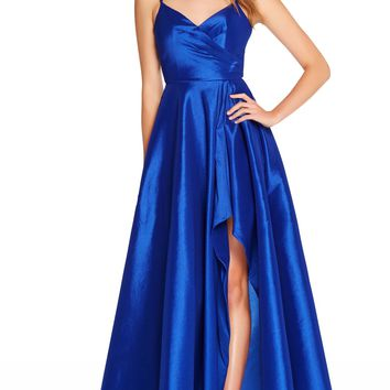 Alyce 60094 Stretch Taffeta Spaghetti Strap Dress