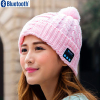 Christmas gift New Arrival Bluetooth beanie Hat Cap Knitted Winter Magic Hands-free Music mp3 Hat for Woman Men Smartphones
