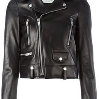 Saint Laurent Classic Biker Jacket - Spazio Pritelli - Farfetch.com