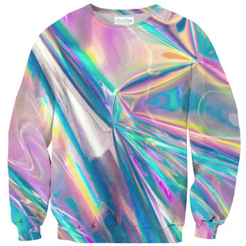 Holographic Foil Sweater