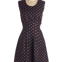 ModCloth Mid-length Sleeveless A-line Delight with Decadence Dress