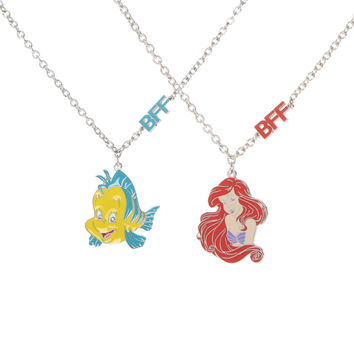 Disney The Little Mermaid BFF Necklace 2 Pack