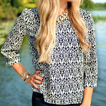 The Whole Package Blouse