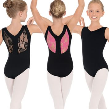 Eurotard 45879C Lace Tank Leotard - Child