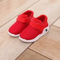 Mesh Children Shoes 2017 Summer Fashion Footwear Baby Toddler Breathable Net Girls Boys Sport Shoe Non-slip Kids Sneakers