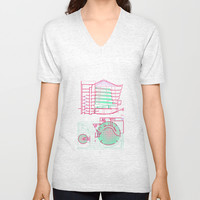 NEW YORK Unisex V-Neck by BIgehiBI
