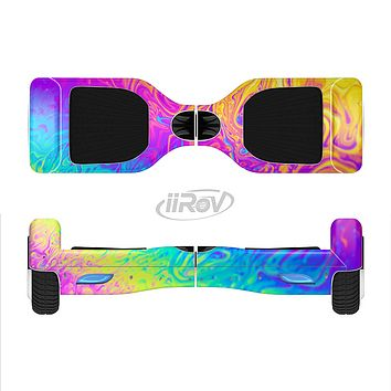 The Neon Color Fushion V2 Full-Body Skin Set for the Smart Drifting SuperCharged iiRov HoverBoard