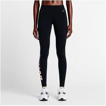 ICIK272 Nike Pro Exercise Fitness Gym Running Training Leggings