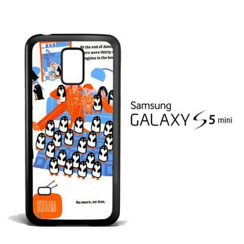 365 penguins book Y1987 Samsung Galaxy S5 Mini Case